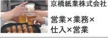 京橋紙業株式会社 第1回 2020年までにオレたちができること