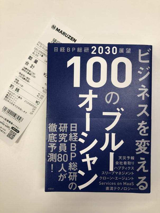日経BP総研2030展望 ビジネスを変える 100のブルーオーシャン.jpg
